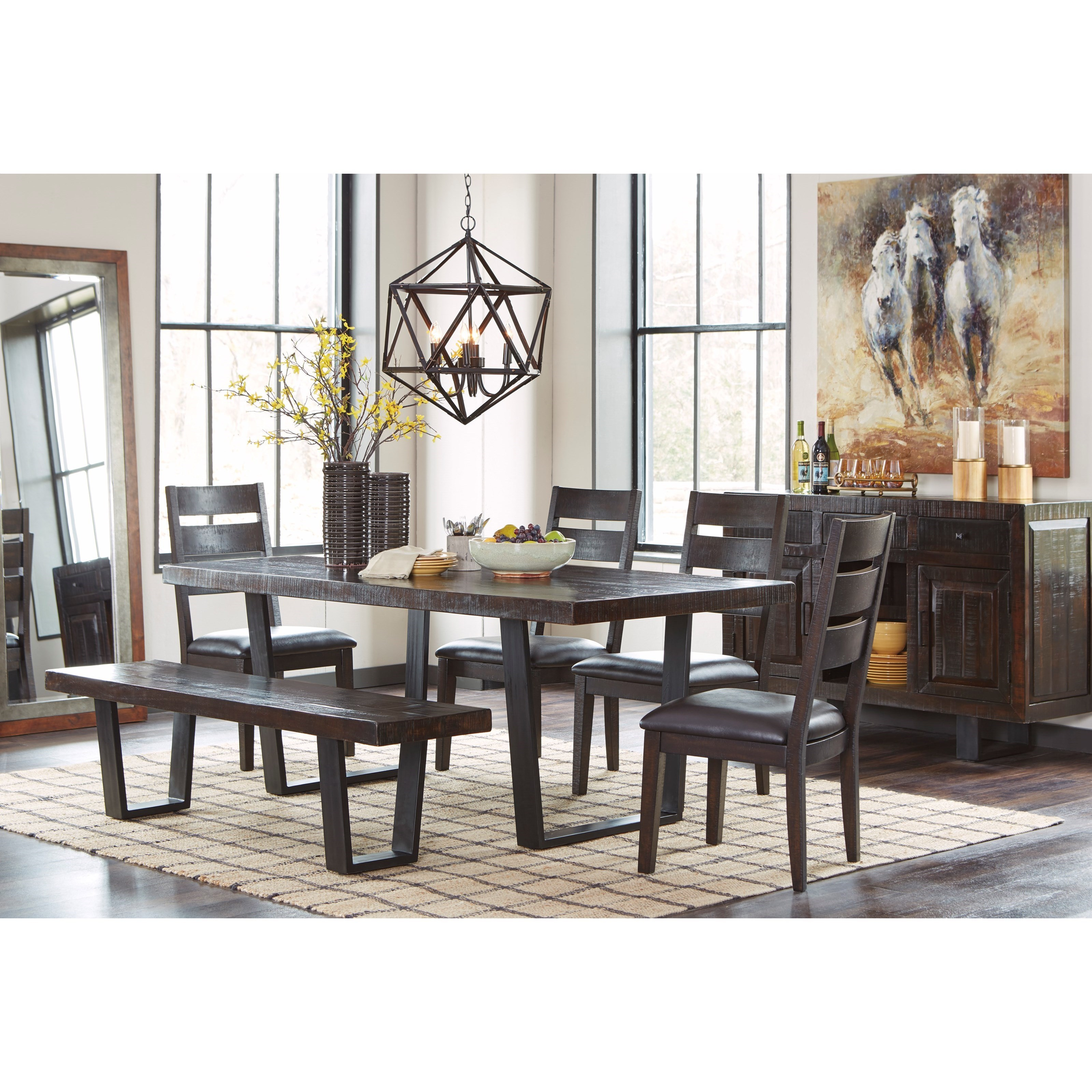 Signature Design By Ashley D  Mestler Collection Dining Room Server