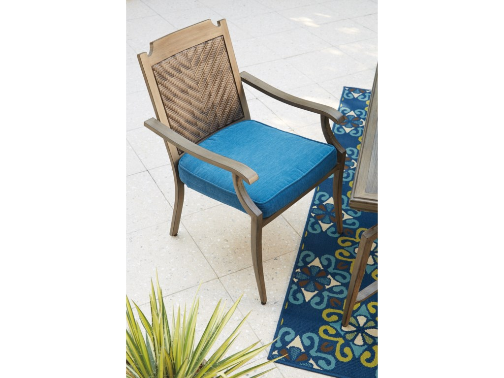 Signature Design by Ashley PartannaOutdoor Chair with Cushion