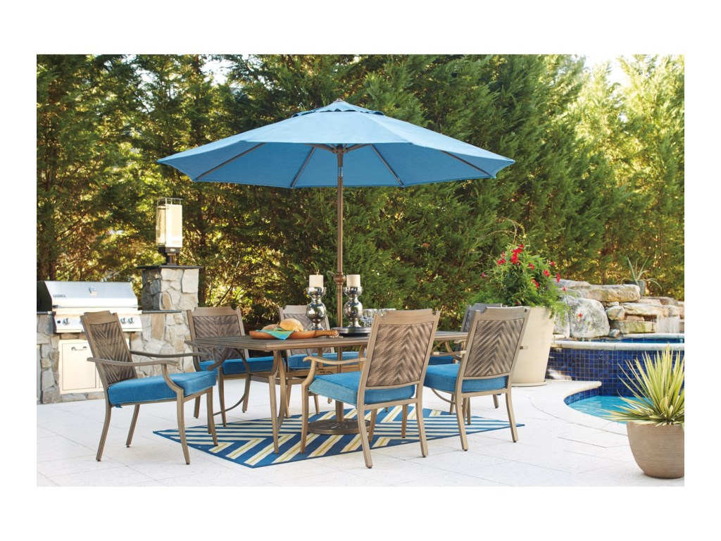 Signature Design by Ashley PartannaOutdoor Rectangular Dining Table