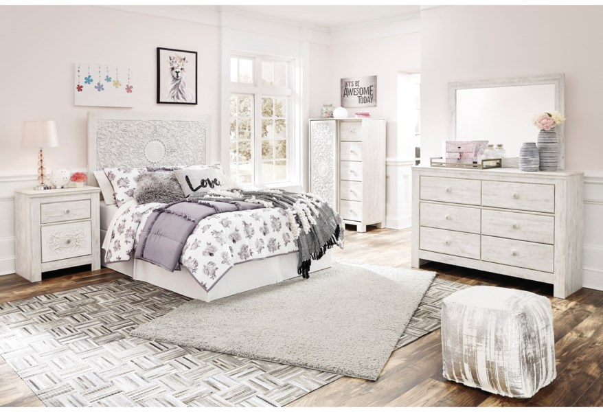 Ashley Signature Design Paxberry Full Bedroom Group Dunk