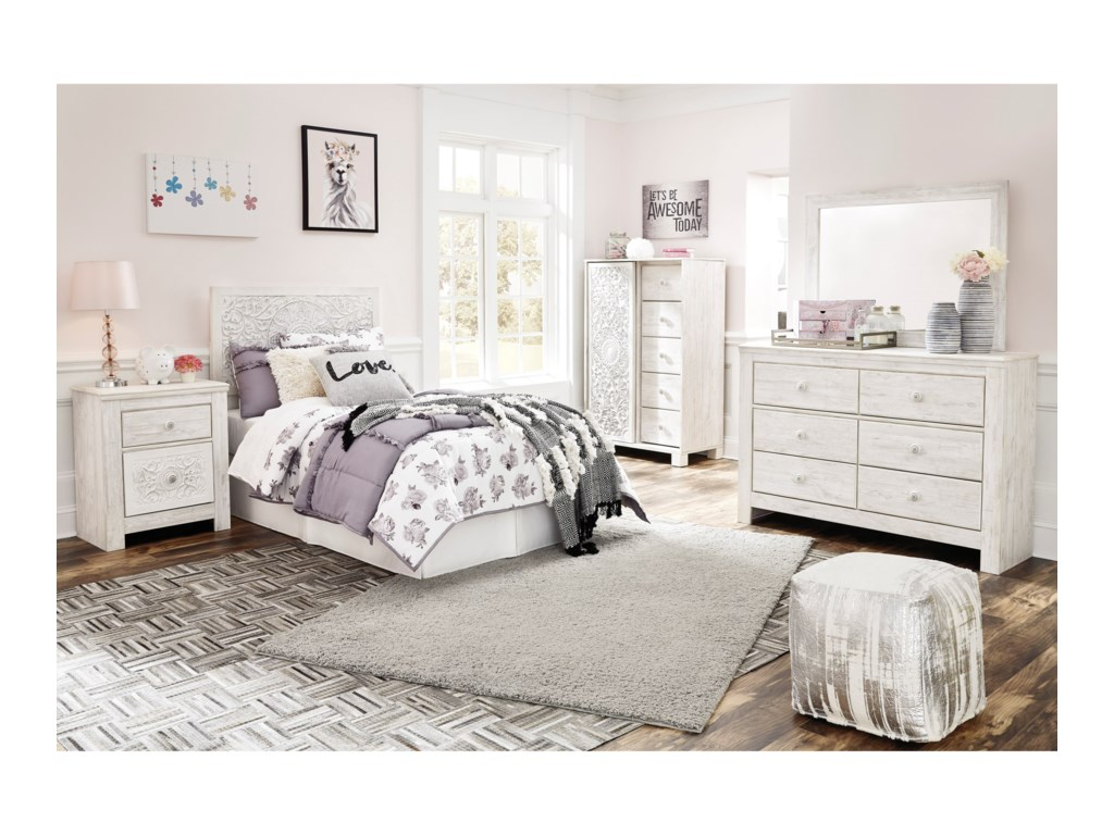 Ashley (Signature Design) PaxberryTwin Bedroom Group