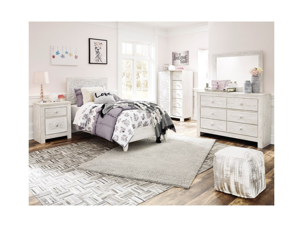 Signature Design by Ashley PaxberryTwin Bedroom Group