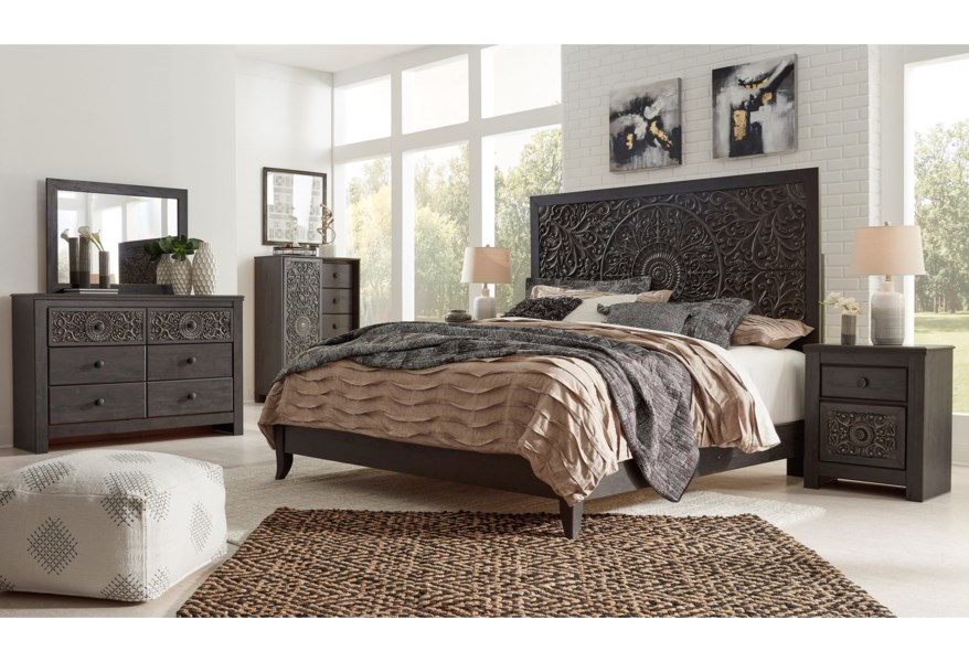 Signature Design By Ashley Paxberry King Bedroom Group Furniture Mart Colorado Bedroom Groups