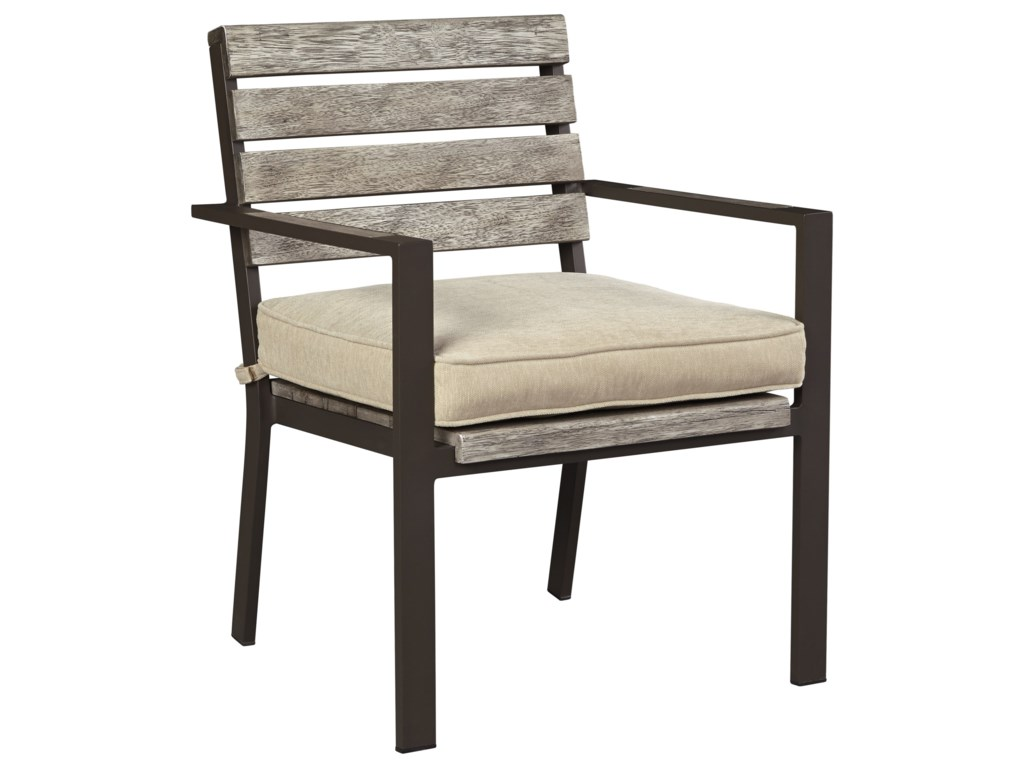 Signature Design by Ashley PeachstoneOutdoor Chair with Cushion