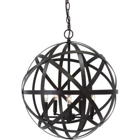 Cade  Bronze Finish Metal Pendant Light