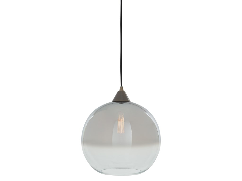Signature Design by Ashley Pendant LightsMinto Clear/Silver Glass Pendant Light