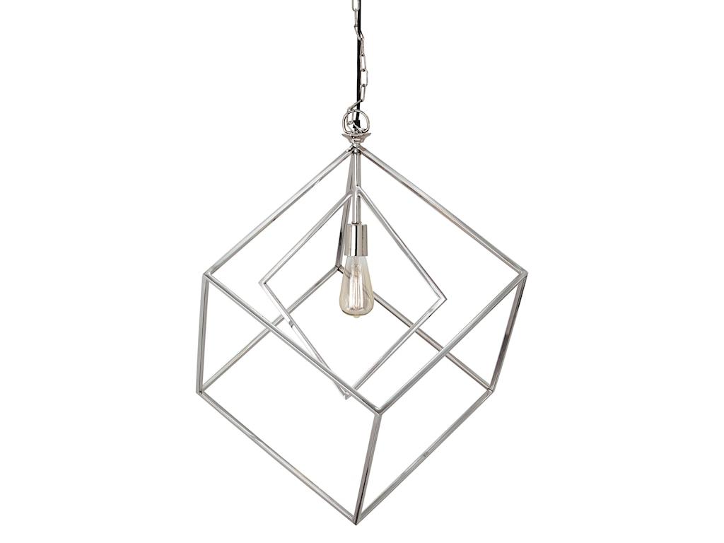 Trendz Pendant LightsNeysa Silver Finish Metal Pendant Light