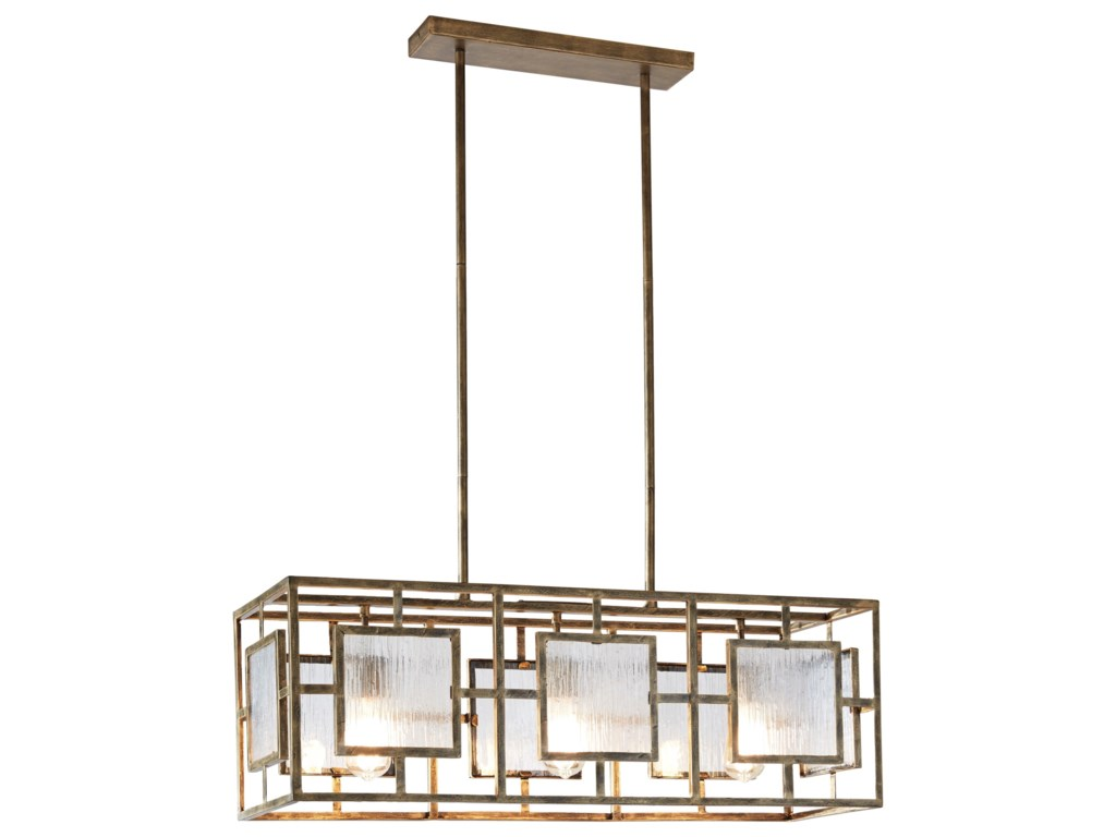 Pendant Lights Parcey Antique Gold Metal Light By Signature Design Ashley At Wayside Furniture