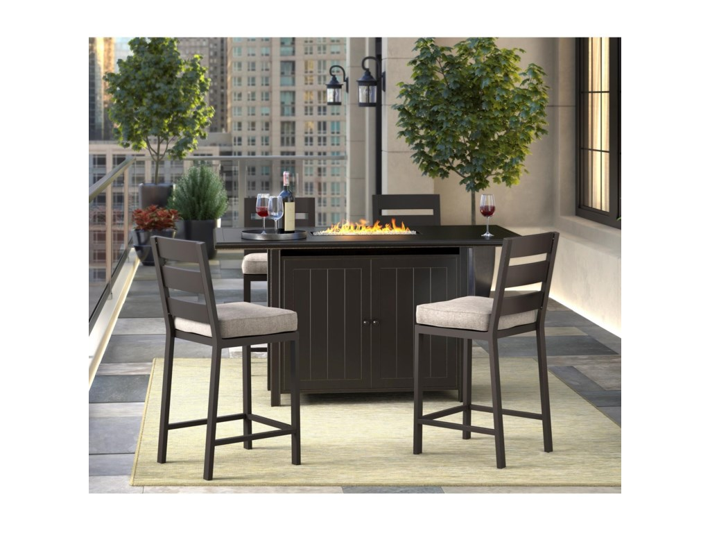 Signature Design by Ashley Perrymount5 Piece Pub Dining Set