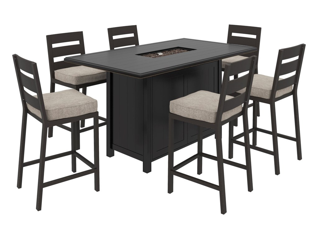 Signature Design by Ashley Perrymount7 Piece Pub Dining Set