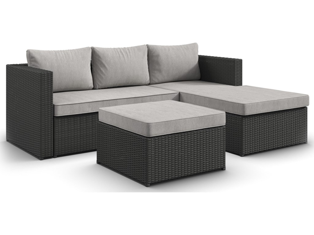 Signature Design by Ashley Pheasant Trail3 Piece Outdoor Sectional Set