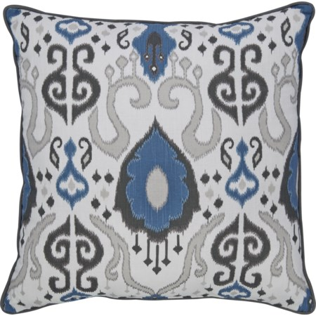 Damaria Blue Pillow
