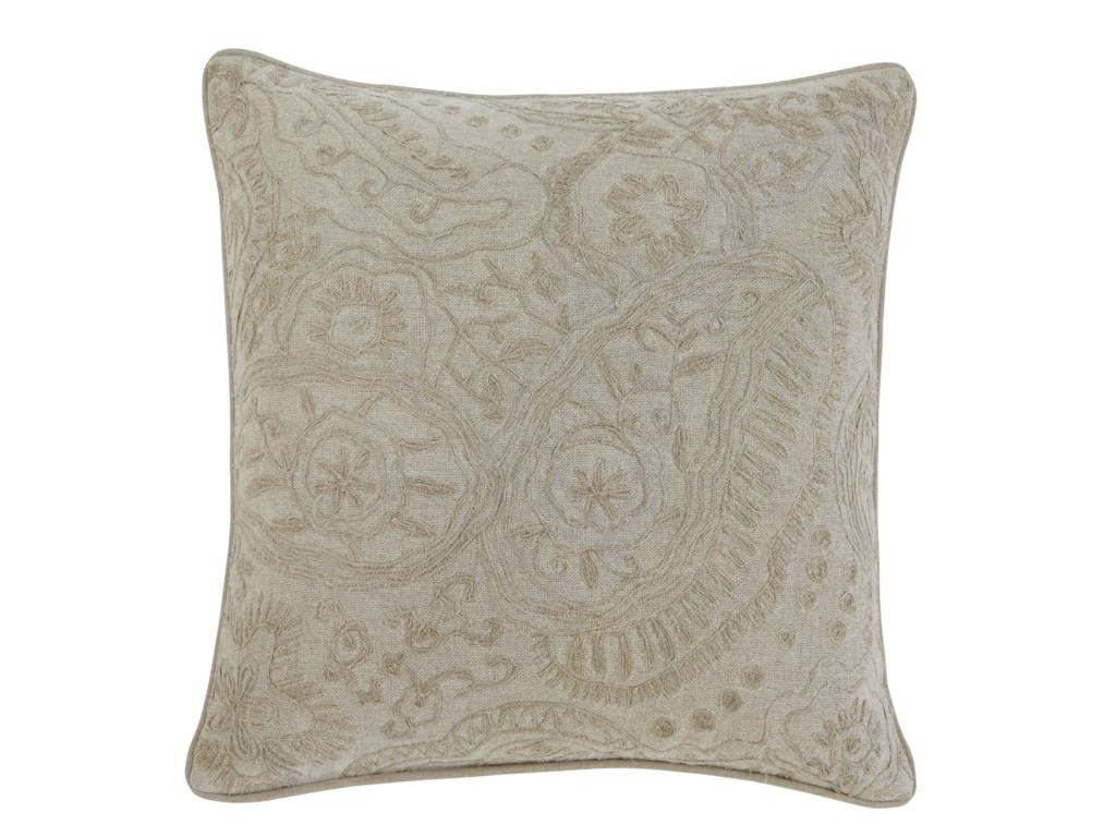 Signature Design by Ashley PillowsStitched - Natural Pillow Cover