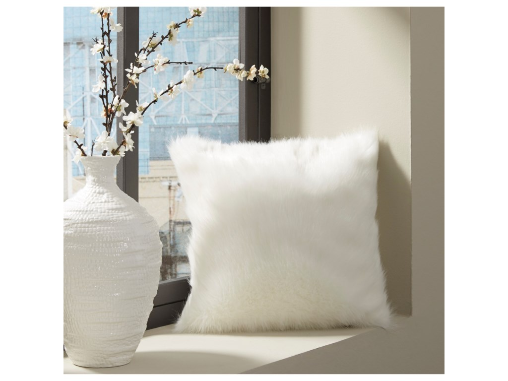 Signature Design by Ashley PillowsHimena White Pillow