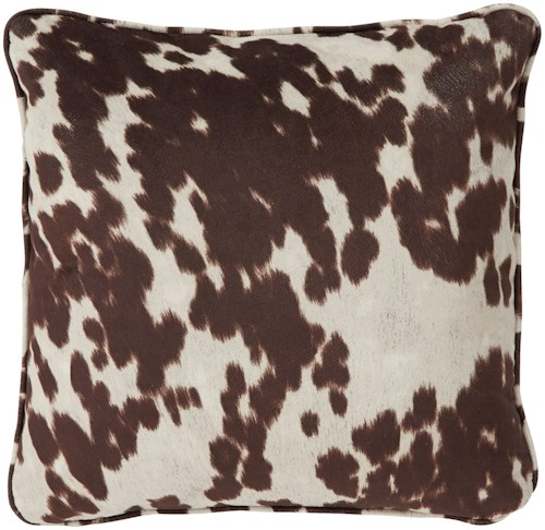 Signature Design by Ashley Pillows Dagan Brown/White Pillow