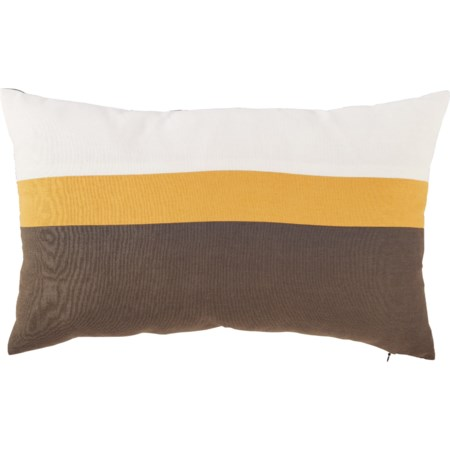 Jacop Gray/Yellow/White Pillow