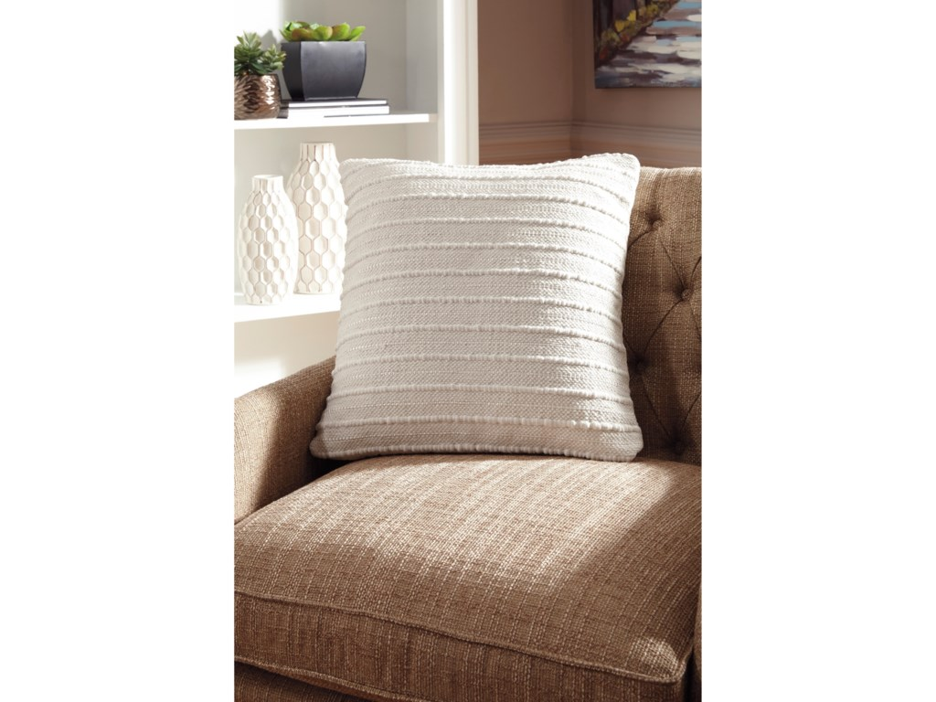 Ashley Signature Design PillowsTheban Cream Pillow