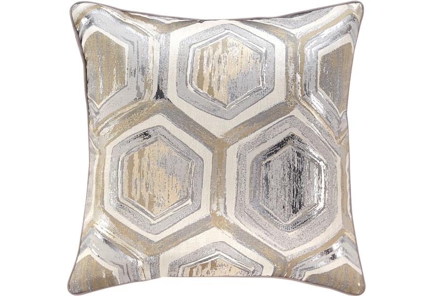 Vendor 3 Pillows A1000480P Meiling Metallic Pillow   Becker