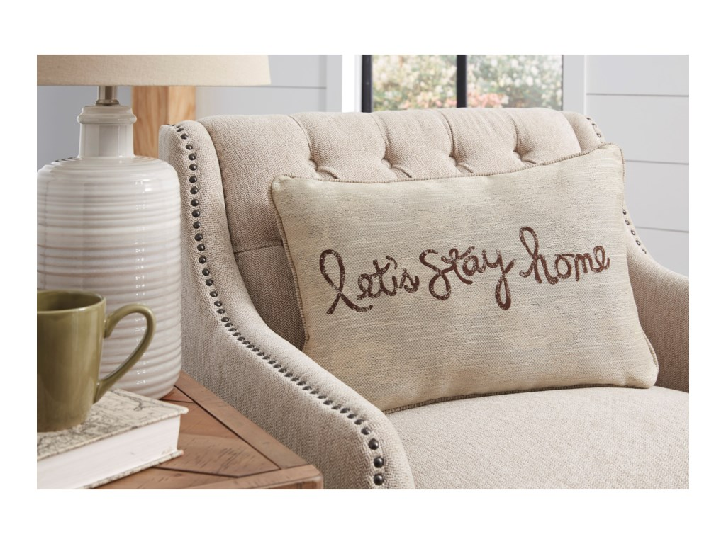 Signature Design by Ashley PillowsLet's Stay Home Chocolate Pillow