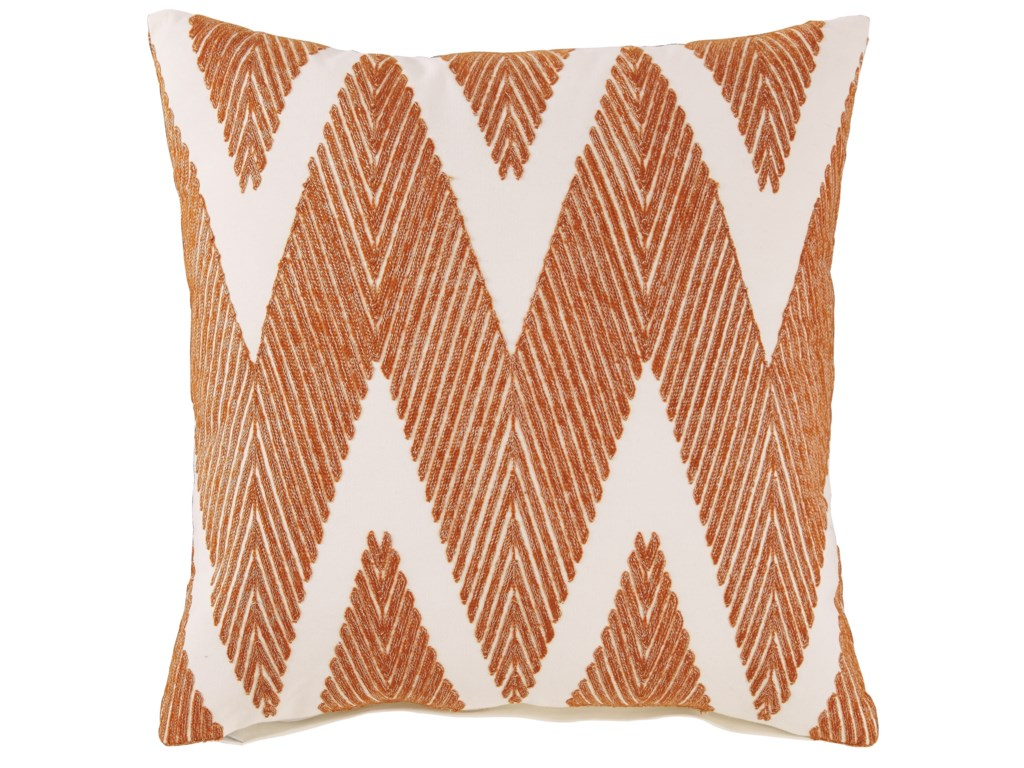 Signature Design by Ashley PillowsCarlina Orange Pillow