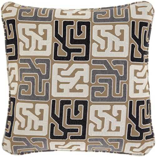 Signature Design by Ashley Pillows Tillamook Black/Tan/Gray Pillow