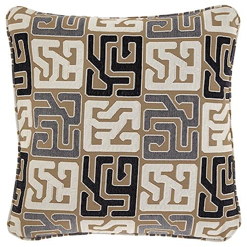 Signature Design by Ashley Pillows Tillamook Black/Tan/Gray Pillow