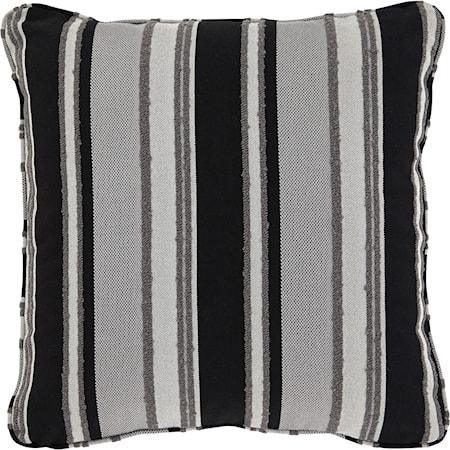 Samuel Black/Tan Pillow