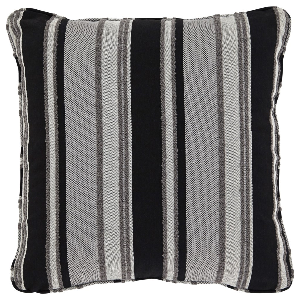 Ashley Signature Design Pillows A1000601p Samuel Black Tan Pillow