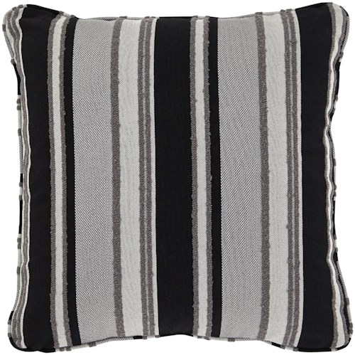 Signature Design by Ashley Pillows Samuel Black/Tan Pillow