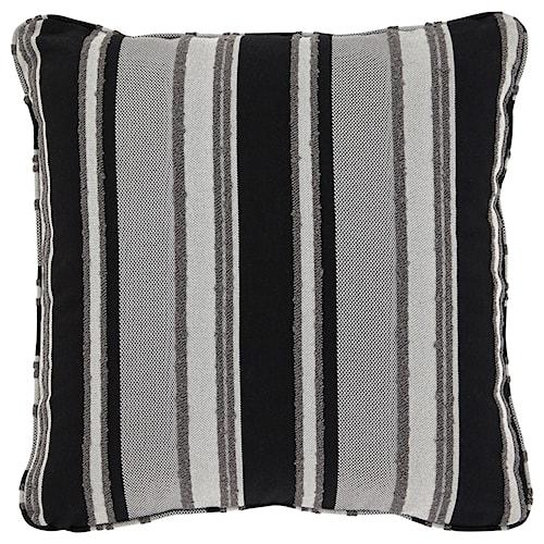 Signature Design by Ashley Pillows Samuel Black/Tan Pillow