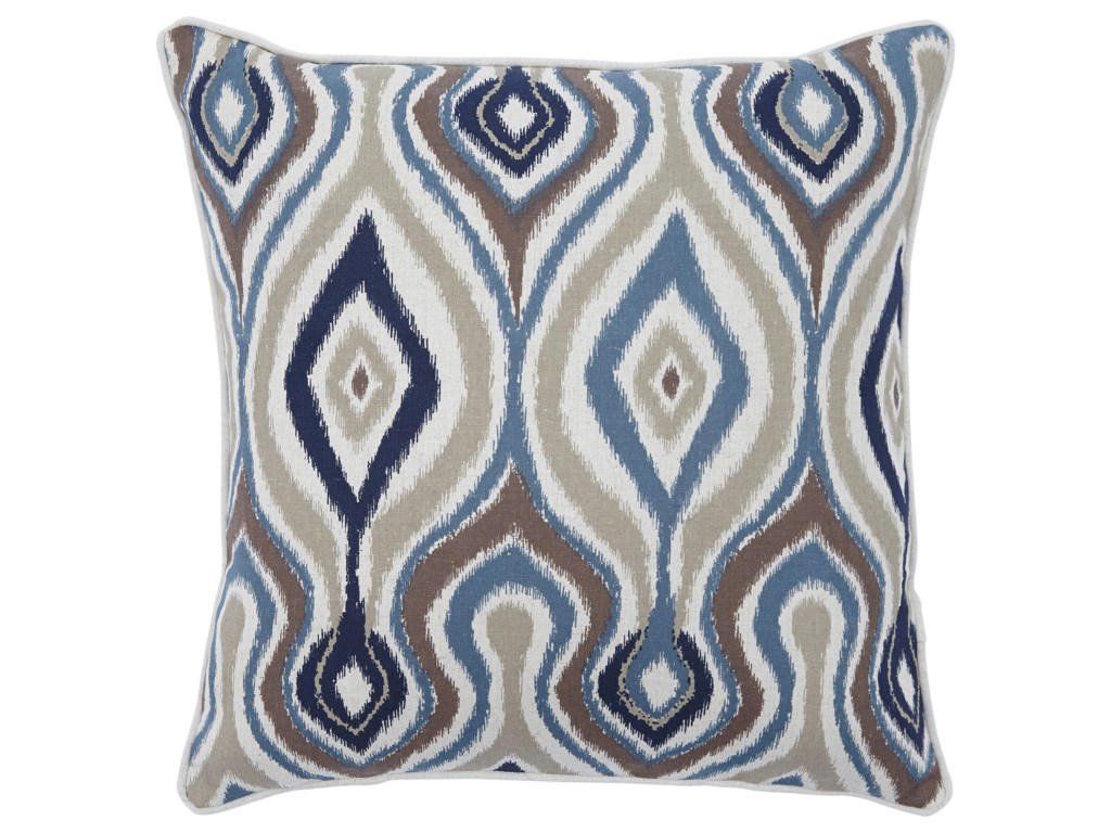 Signature Design by Ashley PillowsRussell Brown/Blue Pillow