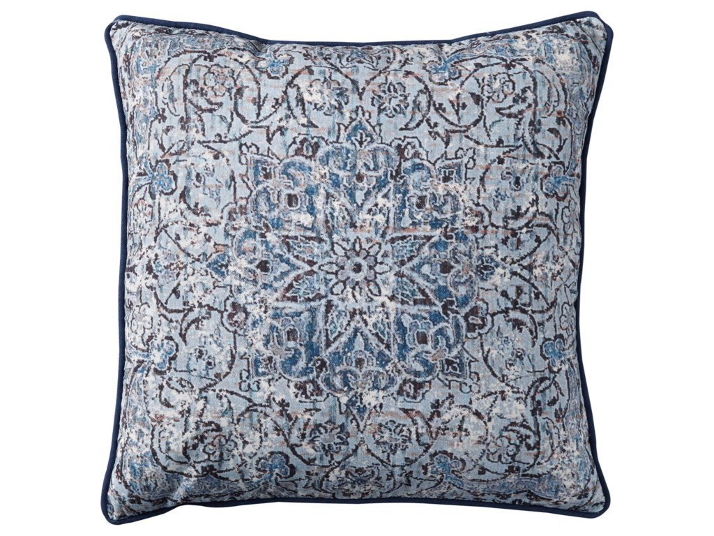 Ashley (Signature Design) PillowsMariah Blue Pillow