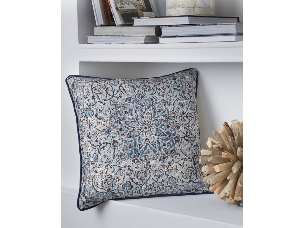 Signature Design by Ashley PillowsMariah Blue Pillow
