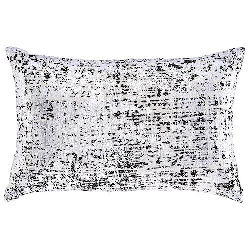Signature Design by Ashley Pillows Linda Black/Silver Pillow