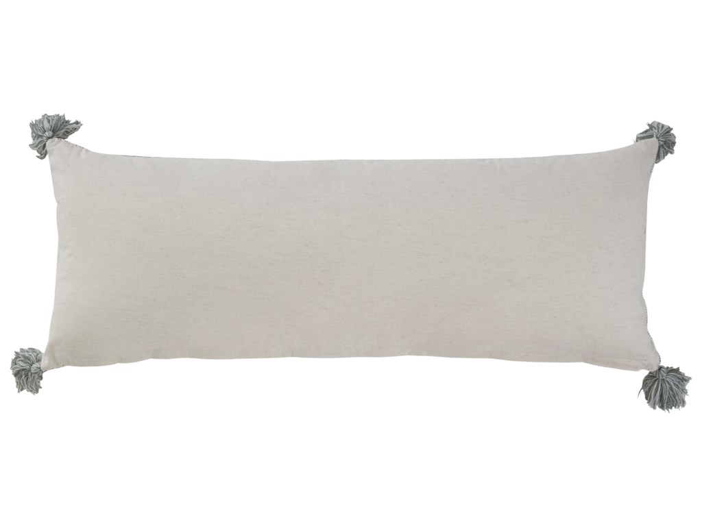 Signature Design by Ashley PillowsLinwood Gray/Cream Pillow