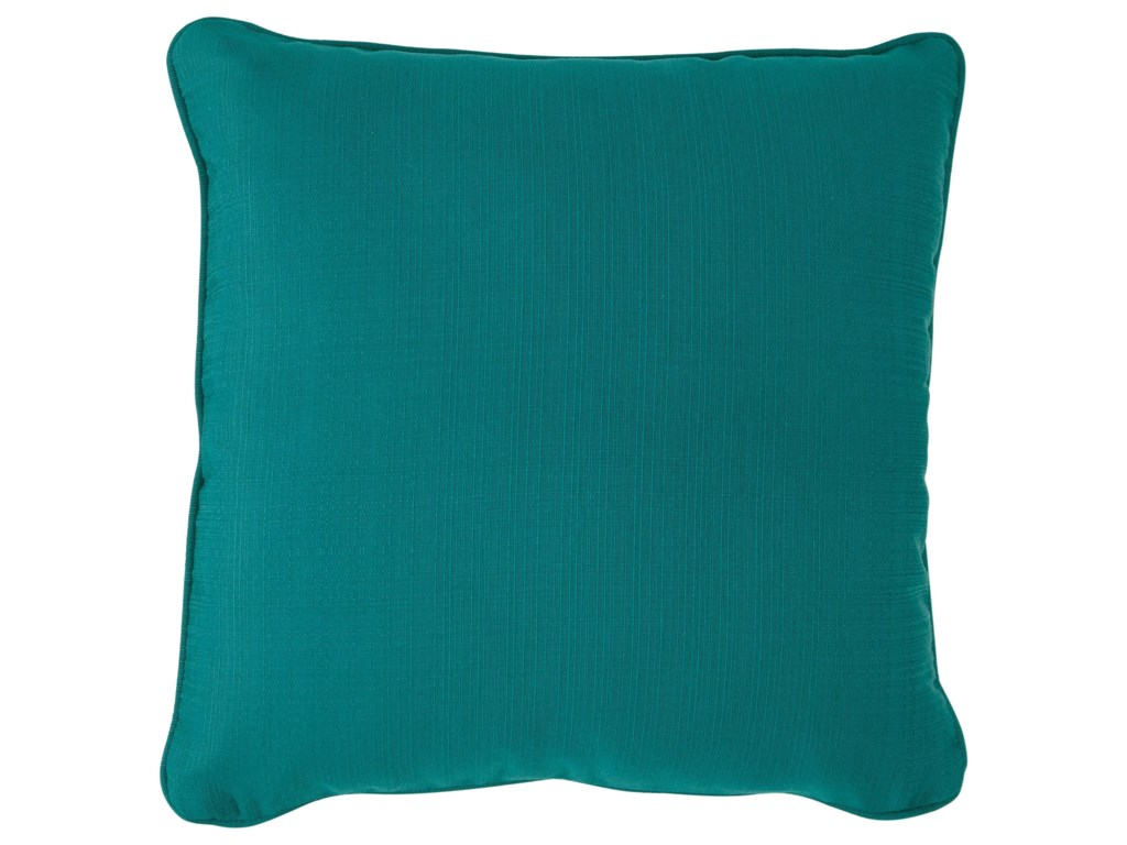 Signature Design by Ashley PillowsJerold Turquoise Pillow