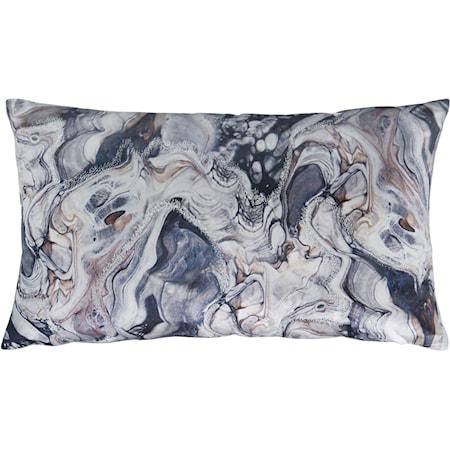 Carissa Gray/Blue Pillow