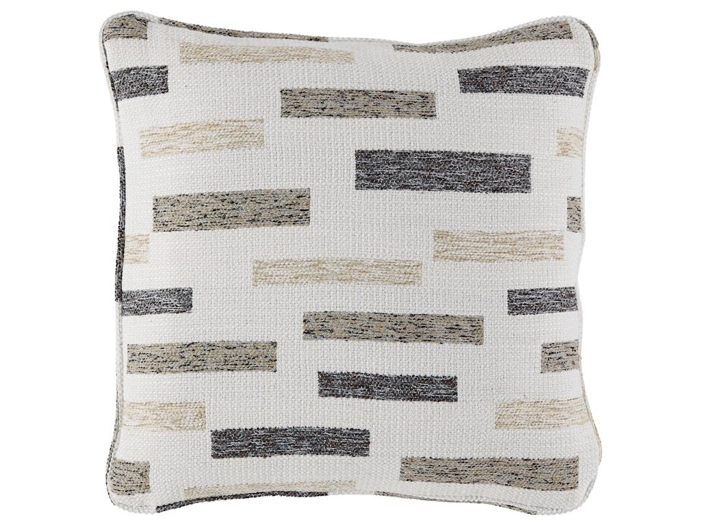 Signature Design by Ashley PillowsCrockett Black/Brown/Cream Pillow