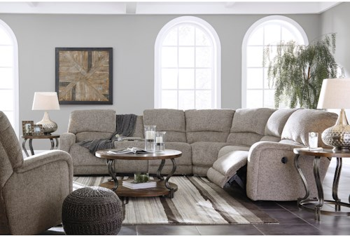 Signature Design by Ashley Pittsfield Reclining Living Room Group ...