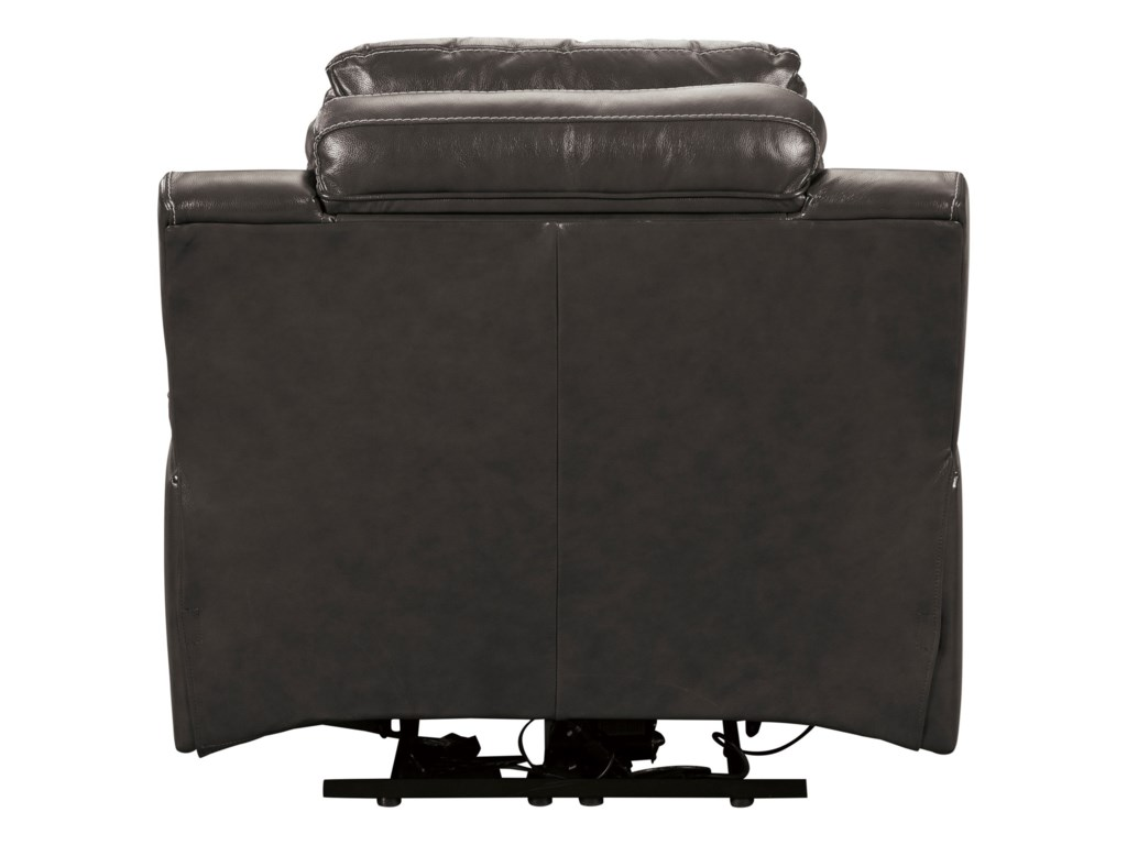 Signature Design PomellatoPower Recliner with Adjustable Headrest