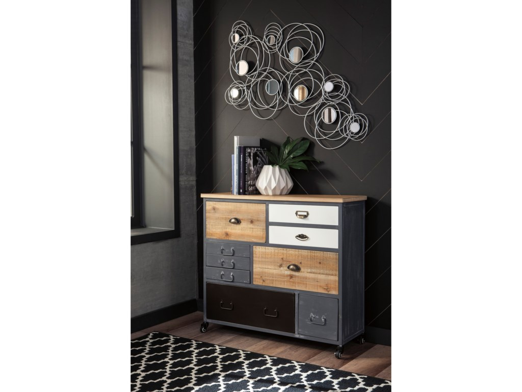 Signature Design by Ashley Ponder RidgeAccent Cabinet