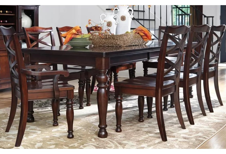 Ashley Porter Dining Set Includes Table And 4 Chairs Morris Home Dining 5 Piece Sets
