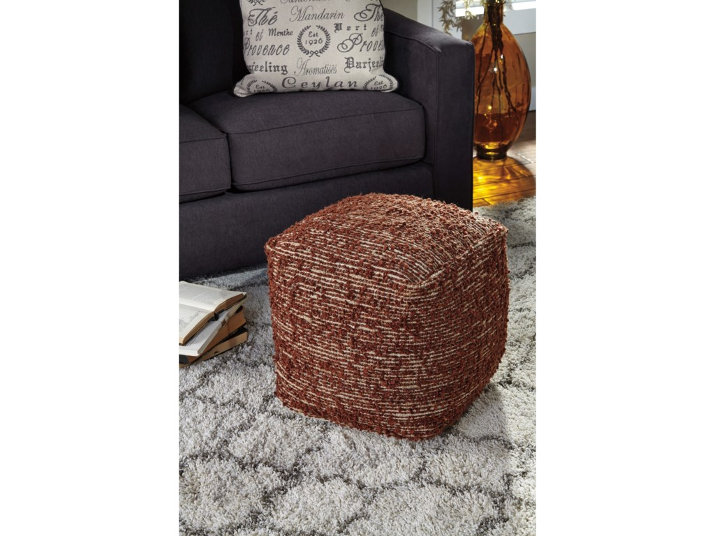 Signature Design by Ashley PoufsDarita - Brown Pouf