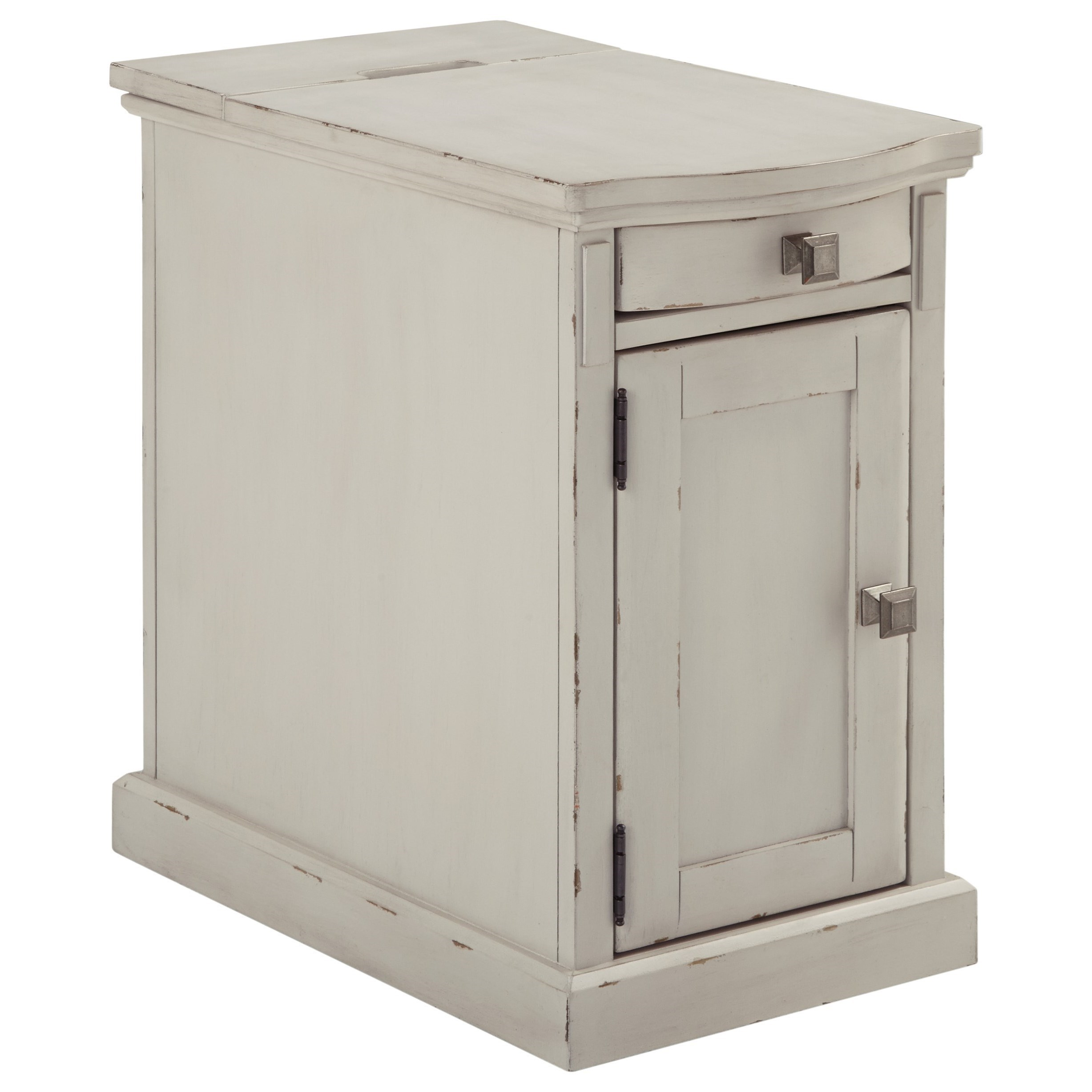 Ashley End Table With Power Part - 18: Signature Design by Ashley LaflornChairside End Table ...