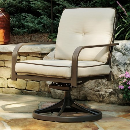 Set of 2 Swivel Lounge Chairs
