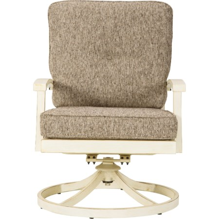 Swivel Lounge Chair with Cushion