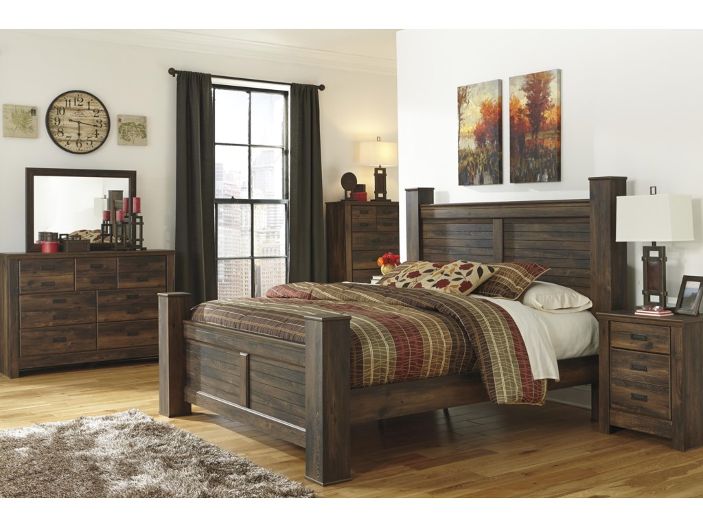 Signature Design by Ashley QuindenKing Bedroom Group