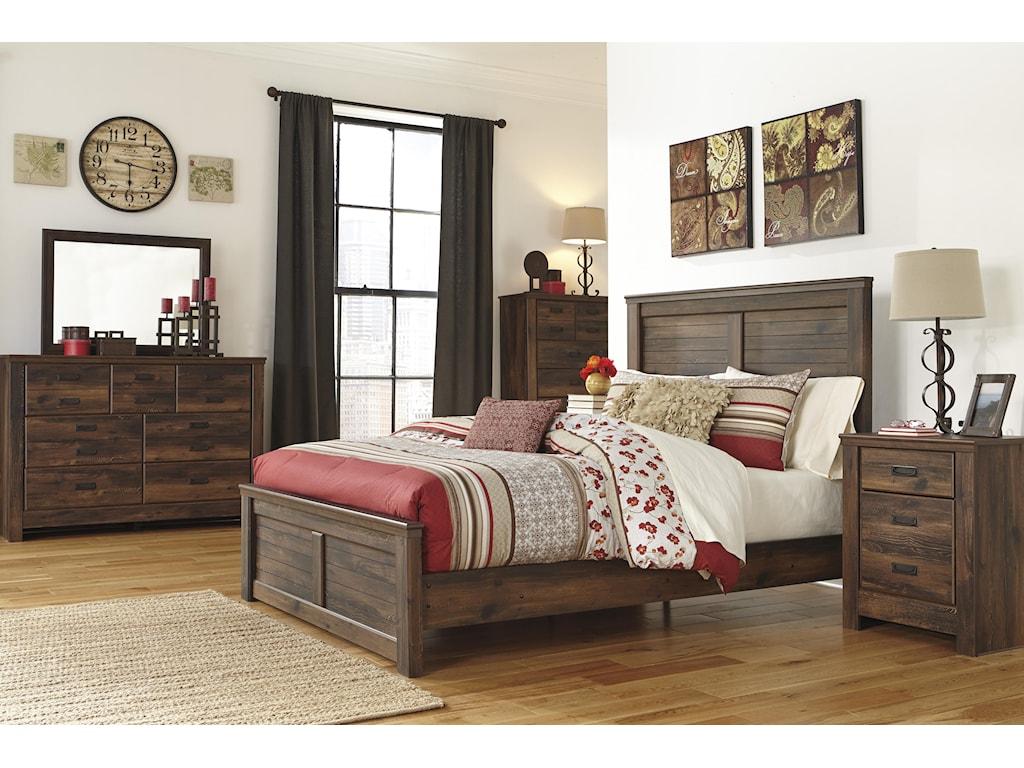 Ashley (Signature Design) QuindenQueen Bedroom Group