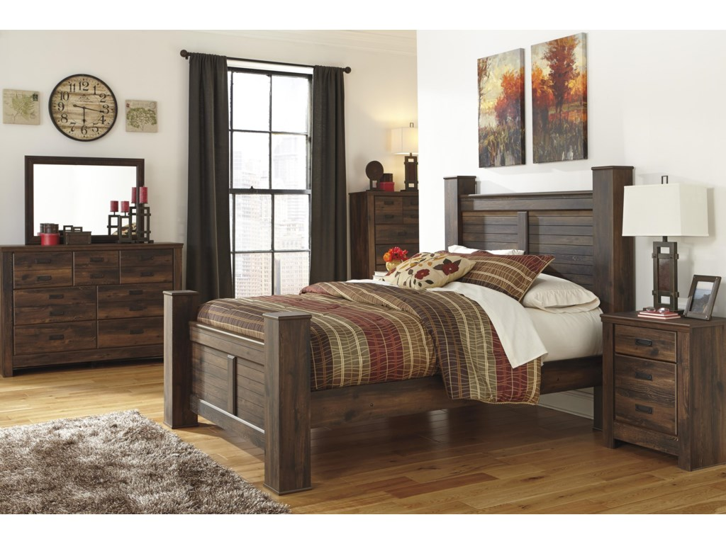 Signature Design by Ashley QuindenQueen Bedroom Group