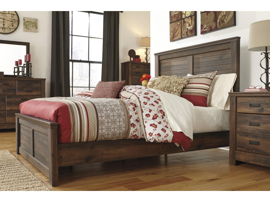 Signature Design by Ashley QuindenKing Panel Bed
